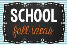 School- Fall Ideas