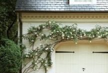 Exteriors / Inspiration for our new yard. Organic/raw materials brought to life. / by Erica Archer