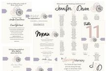 Stationery / Envelope liners, invitations, r.s.v.p's, maps, table numbers, seating chart, programs, place cards, menu cards, thank you cards- stationery can play such an important role in your wedding! / by Madeline's Weddings & Events