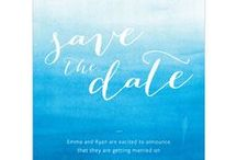 "Save the Date / If you decide to send your guests a ""Save the Date,"" make it personal and show off your personalities!"