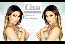 Love Ceca...Love Serbia / Ceca (Svetlana) Raznatovic, turbo-folk singer...Serbia / by Julz Nemani