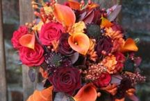 Fall Wedding Inspiration / With warm colors, leaves, pumpkins, flowers and gourds there is most definitely a sense of comfort in a Fall wedding!