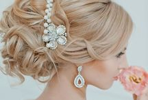 Hair & Make up Inspiration / It could be bold & dramatic for the confident bride, soft & feminine for the romantic at heart, or light & natural for the bride who never wears make-up!!  With so many options, be sure to choose hair and make-up that speaks of you! / by Madeline's Weddings & Events