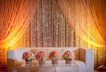 Bling Bling ~ Wedding Trend / From crystal backdrops to glittery bouquet wraps, everybody needs a little sparkly in their life!