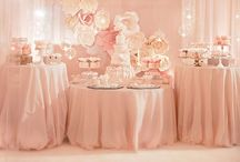 Blush Wedding Inspiration / Beautiful, elegant and soft - blush pink is a gorgeous wedding color!