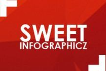 Sweet Infographicz / It's information with stunning designs, what more do you need? / by MSM DesignZ, Inc