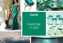 Color of the Year 2013 ~ Emerald Green Wedding Inspiration / Look here for inspiration on how to add the color of the year into your wedding!