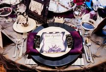 Purple & Grey Wedding Inspiration / Put purple and grey together for a fantastic, modern look!
