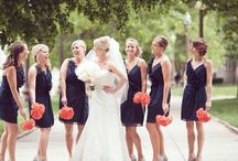Coral & Navy Wedding Inspiration / Combine coral and navy with elegant accents and nautical notes!