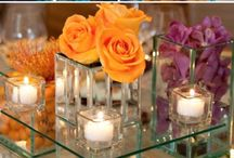 Orange & Purple Wedding Inspiration / This dynamic colour palette makes a big, beautiful statement at any event!