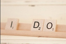 Scrabble Inspired Wedding / Tons of inspiration for the couple that loves this classic word game!