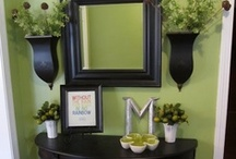 Home Interior & Design / Room designs and wall decor ideas etc. / by Toni Gallagher