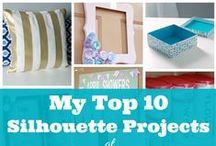 Silhouette Project Ideas / by Lucy Plegge