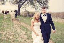Country Wedding Ideas / Ideas for a country themed wedding, think country flowers, soft colours, gardens and summer!