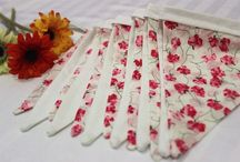 Floral bunting / Decorative floral bunting for your home decor