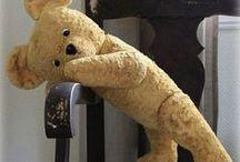 Zottelbären / Bären und deren Nachbildungen