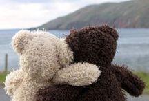 chlupatý medvědi