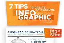 Infographics / I love infographics just because they are visual and look so cool. #visualmarketing #infographics / by Michele McGraw, Scraps of My Geek Life