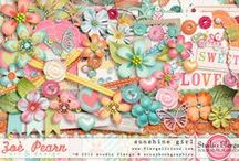 Digital Scrapbooking / Information about digital scrapbooking. #DigiScrap