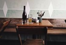 restos, kitchens & tables / by Heidi Leon Monges