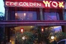 Golden Wok Restaurant / Logo, Branding, Website and Decor for the Hotel