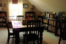 [Home]schoolroom ideas / Ideas and inspiration for homeschool room organization and decor.