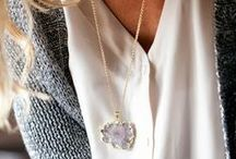 FASHION: JEWELRY / Jewels, more jewels, not necessarily expensive; costume jewelry has my heart!