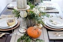 HALLOWEEN + THANKSGIVING / Fall, spooky Halloween, & Thanksgiving decor and styling ideas to get us into the cooler seasons.