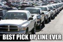 Pick up lines (not necessarily good ones!)