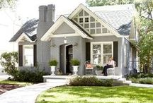 EXTERIORS / Styling the outside of your home is just as important as the inside! This first impression is seen as your neighbors drive by or when your guests arrive.