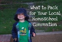 Homeschool Conventions / Surviving homeschool conferences and conventions and getting the most from them.