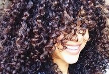 curly hair / by Jocelynn Cervantes