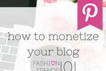Monetizing Your Blog / Based on a monetizing your blog session I taught. #blogging