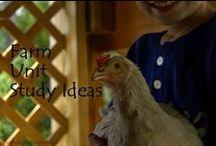 Farm Unit Study / Ideas for a unit study to accompany a farm field trip.