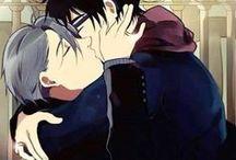 Victor ♥ Yûri / Animé : Yuri on ice