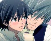 Akihiko ♥ Misaki / Animé : Junjou Romantica