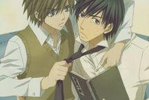 Miyagi ♥ Shinobu / Animé : Junjou Romantica (Terrorist)