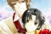 Yukina ♥ Kisa / Animé : Sekai Ichi Hatsukoi