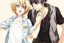 Ryouma ♥ Izumi / Animé : Love Stage