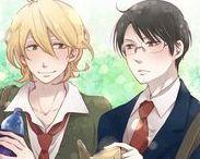 Kusakabe ♥ Sajô / Animé ; Doukyuusei