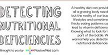 Deficiencies / When delving into challenges with our health we often find out we have a deficiency in one thing or another...  While I would strongly contend we should look at WHY we have a deficiency and not just treat the symptom - these posts help us to dig further in our quest to find out WHY?