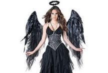 Anges Noirs / Les costumes d'anges noirs