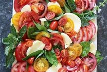 Nutritional and beautiful salads / Healthy salads with beautiful salad bowls