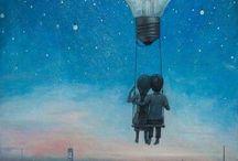 Life and moon art❤️