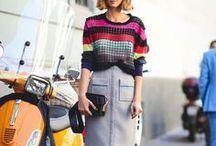 Moda y estilo femenino / Inspiraciones para ir a la última y de street style para lucir bien todos los días.