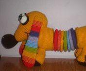Amigurumis-Perro salchicha