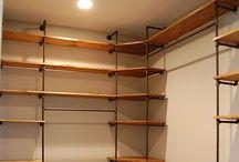 closets/dressing rooms