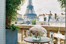Paris de France / My dream is to one day visit Paris. <3