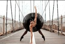 Wonderful Dancers Outdoors / Wonderful photos of dancers in the city, surrounds and outdoors!
