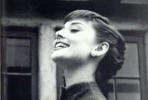 audrey.audrey.audrey. / If there is one person I admire most, it is Miss Audrey Hepburn. / by Hailey Kassulker